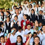 Entrega del kit de Prevención de la Violencia escolar de Villa Nueva
