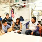 Acercamiento con comerciantes del Mercado Central Zona 1