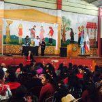"""Charla del """"Violentometro"""" en Palestina de los Altos, Quetzaltenango"""
