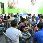 «Conversatorio Ciudadano» en el mercado la Villa zona 10